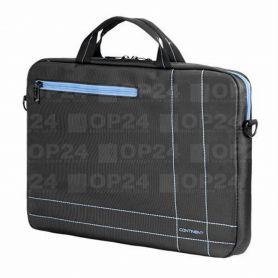 """Сумка для ноутбука Continent 40x30x5, сірий, нейлон/поліестер, 15,6"""""""