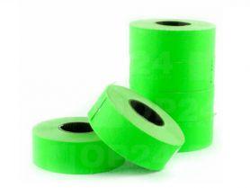 Етикет стрічка 21,5х12 1500шт пряма зелена СПІТЧ