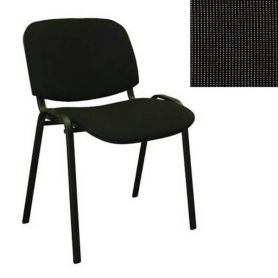 Стілець ISO Black С-26 чорно-сірий