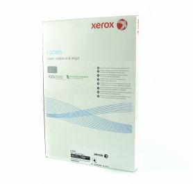 Етикетка самоклейка 12шт 105x44мм 100арк Xerox
