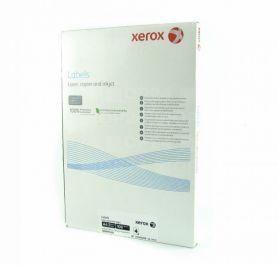 Етикетка самоклейка 01шт 210x297мм 100арк Xerox