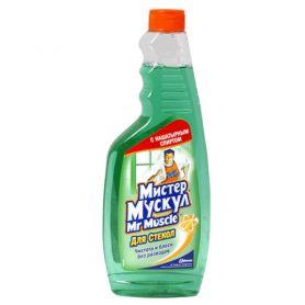 Засіб для миття вікон Мr. Muscle змінний (зелена) 500мл