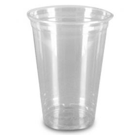 Одноразовий стакан пластик 500мл (паков. 50шт)
