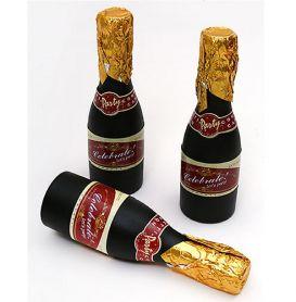 Хлопавка 20см Шампанське пружина, кольоровий серпантин