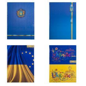 Книга канцелярська 96арк офс/кл. тв.палітурка ламінована Україна Buromax